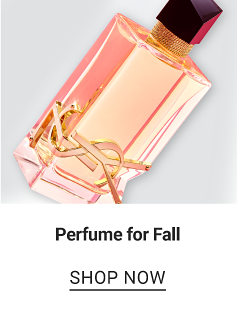 A bottle of women's perfume. Perfume for Fall. Shop now.