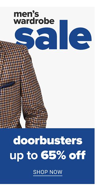 Doorbusters. Up to 65% off. Shop now.