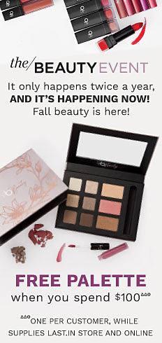 the beauty event it only happens twice a year