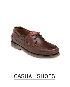 A brown leather casual shoe. Shop casual shoes.