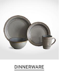 Shop dinnerware.