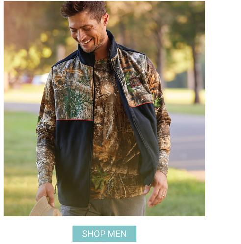 Shop Men's Clothing.