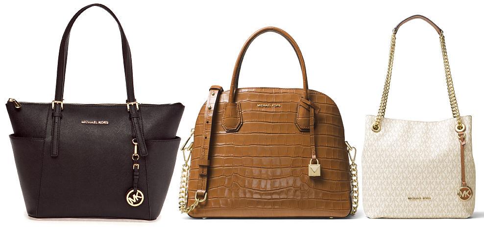 3 Michael Michael Kors handbags. Shop Michael Michael Kors.