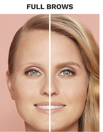 Benefit Brow basics. 3 before and after photos of women with and without Benefit Brow products. Get Full Brows with Gimme Brow+ Volumizing Fiber Gel. Shop now.