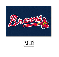An Atlanta Braves logo. Shop MLB.