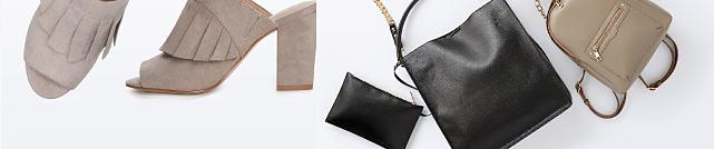 An assortment of women's shoes & handbags. Up to 30% off shoes & handbags featuring Kaari Blue. Shop handbags.