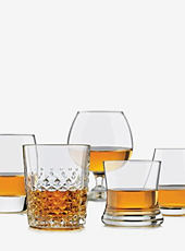 A variety of glasses. Shop drink ware.