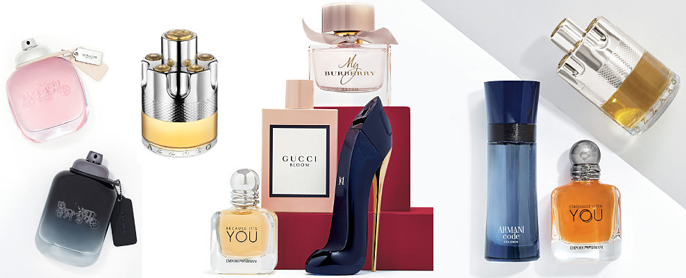 An assortment of women's & men's fragrances. Fall for a new favorite. Enticing autumn fragrances for everyone. Shop now.