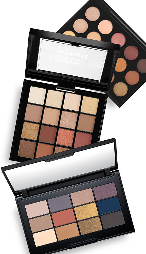 Palettes of eyeshadow shades. Palettes. Deep, rich new hues for you. Shop now.