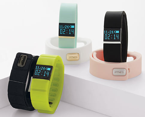 An assortment of fitness trackers. On-Track & On Time. Fitness trackers featuring iFitness. Shop now.