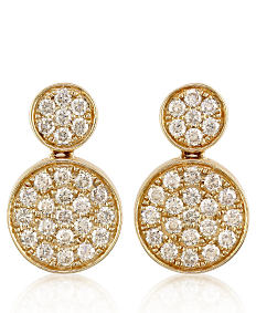 Gold & diamond earrings. Shop fine jewelry earrings.