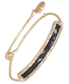 A black & gold fashion bracelet. Shop fashion bracelets.