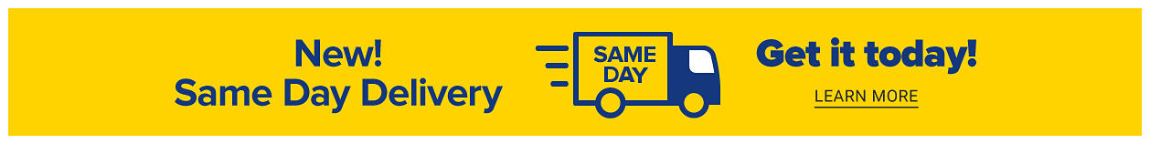 Get it today! Free in-store of contactless curbside pickup or new same day delivery. Learn more.
