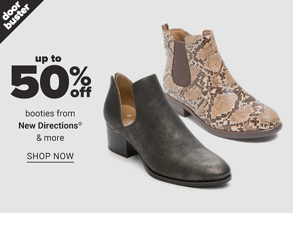 Up to 50% off Booties from New Directions & more - Shop Now