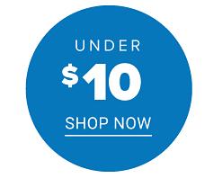Shop under $10.