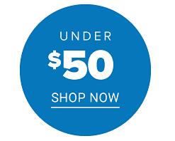 Shop under $50.