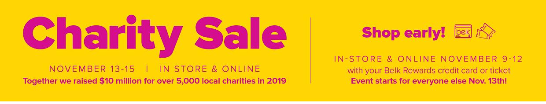 Charity Sale.