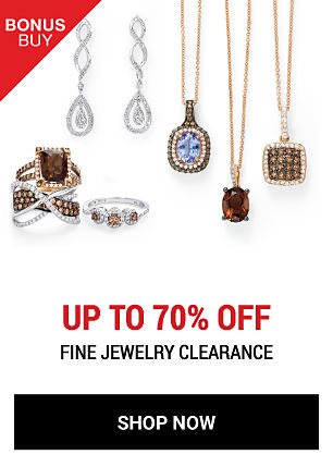 An assortment of fine jewelry rings & earrings. Bonus Buy. Up to 70% off fine jewelry clearance. Shop now.