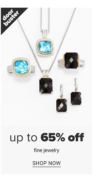 An assortment of silver, gold, diamond & colored diamond rings, earrings & pendant necklaces. Doorbuster. Up to 65% off fine jewelry. Shop now.