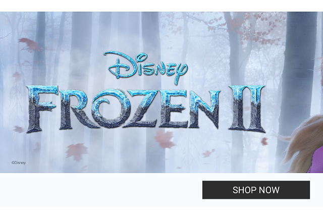 A girl wearing a light blue tee with a front graphic print of a character from Disney's Frozen 2 movie and blue & white snowflake patterned print pants. Disney Frozen 2. Doorbuster. Now at Belk. Up to 40% off kids Frozen 2 styles. Shop now.