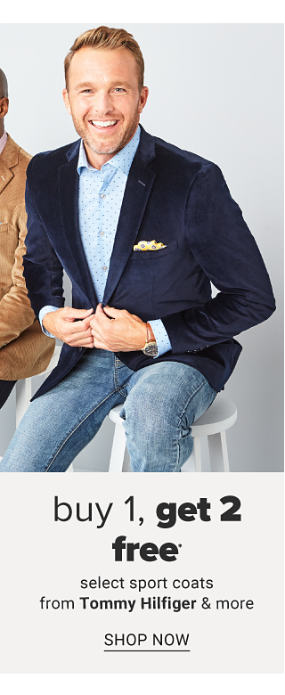 Doorbuster. Buy 1, Get 2 Free select sport coats from Tommy Hilfiger & more. Shop now.