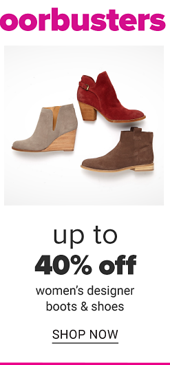 An assortment of women's suede boots in a variety of colors & styles. Up to 40% off women's designer boots & shoes. Shop now.