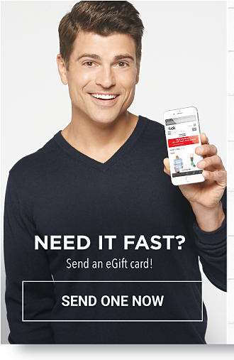 Need It Fast? Send a egift card! - Send One Now