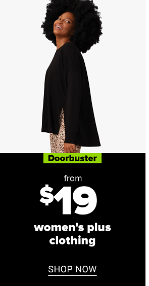 A woman in a dark green jacket with a furry hood. Doorbuster. From $55 women's coats. Shop now.