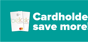 Cardholders save more. Up to 70% off select brands with your Belk Rewards credit card & coupon. Not a cardholder? Apply now!