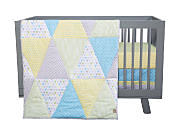 crib with blanket