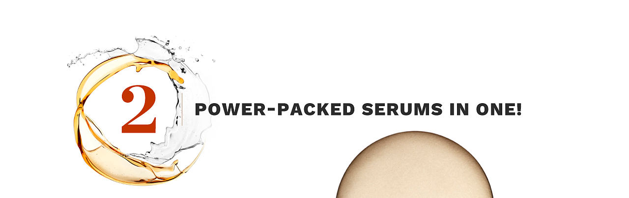 2 power packed serums in one.
