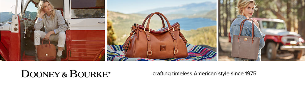 Dooney & Bourke. Crafting timeless American style since 1975.