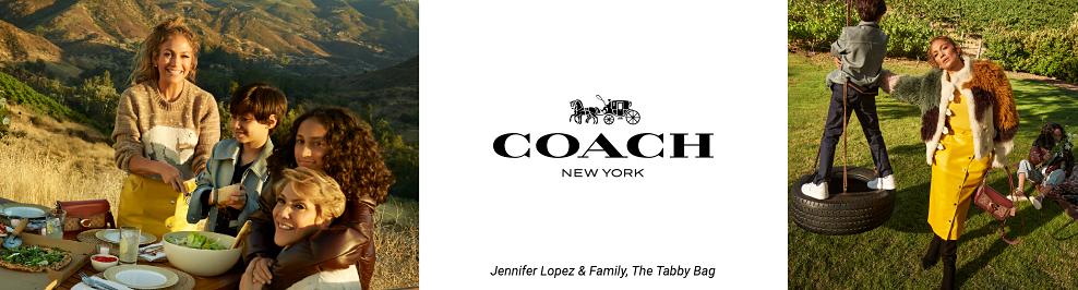Coach New York. Jennifer Lopez & family. The Tabby Bag.