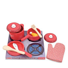 A kids' kitchen play set. Shop pretend play.