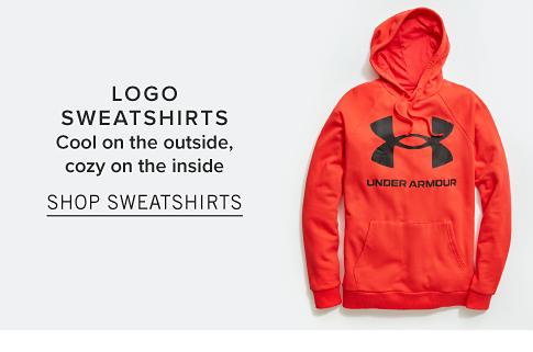 Logo Sweatshirts. Cool on the outside, cozy on the inside. Shop Sweatshirts.