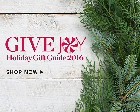 Give Joy - Holiday Gift Guide 2016 - Shop Now