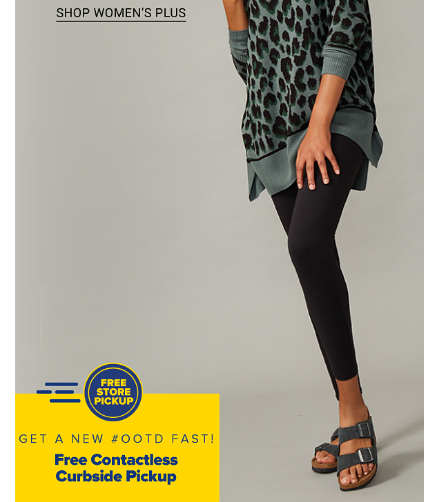 A woman in a gray and black animal print sweater, black leggings and sandals. Women's Belk exclusives featuring New Directions, Crown and Ivy and more. Shop women. Shop women's plus.