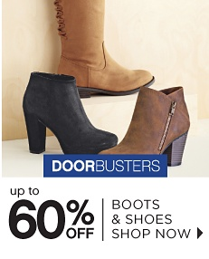 Doorbusters - Up to 60% off Boots & Shoes - Shop Now