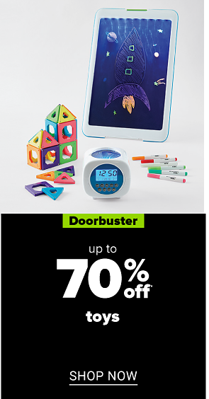 A variety of children's toys. Doorbuster Up to 70% off toys. Shop now.