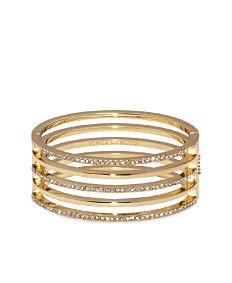 A gold & gemstone 4-row bracelet. Shop fashion jewelry bracelets.