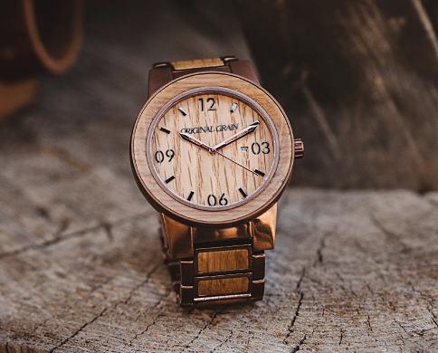 An Original Grain men's watch. Fashion Watches featuring Original Grain. Shop now.