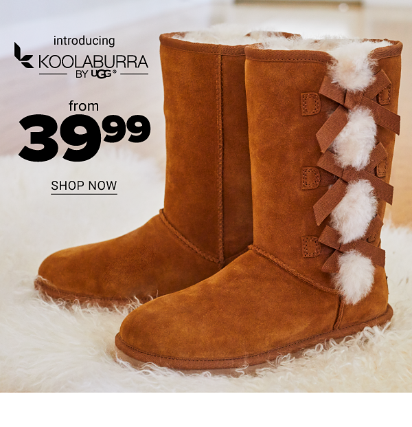 Introducing Koolaburra by UGG from 39.99 - Shop Now