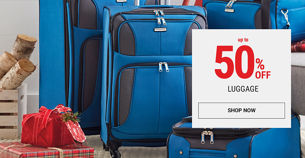 A 4-piece luggage set. Up to 50% off luggage. Shop now.