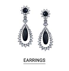 A pair of pendant earrings. Shop earrings.