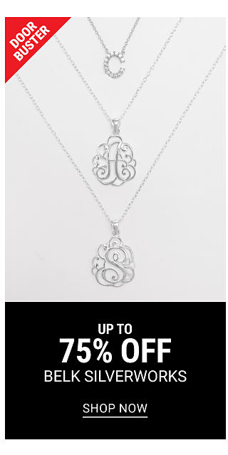 Three different styles of silver plate pendant necklaces. DoorBuster. Up to 75% off Belk Silverworks. Shop now.