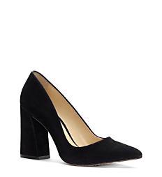 A black heel. Shop heels.