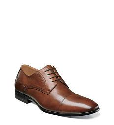 A brown leather men's dress shoe. Shop men.