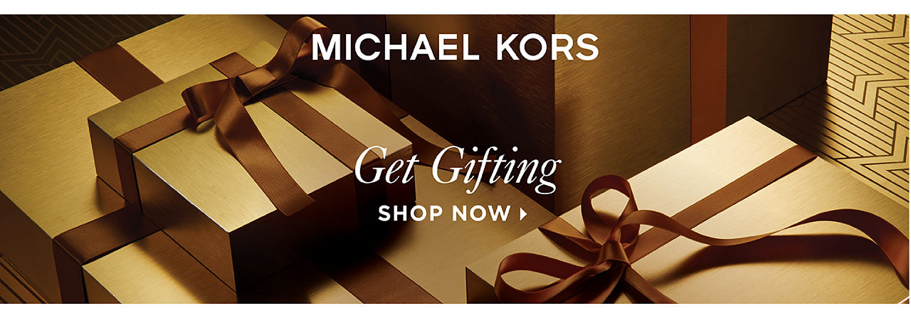 Michael Kors. Get Gifting. Shop now.