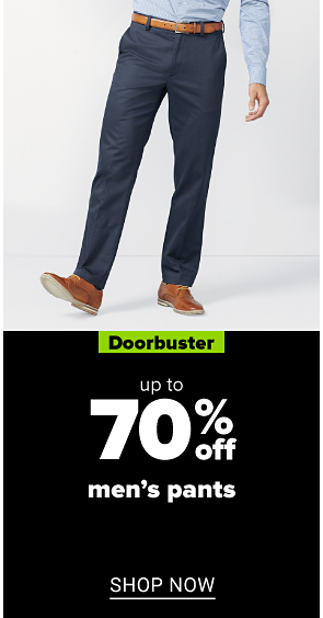 up to 70% off men's pants shop now
