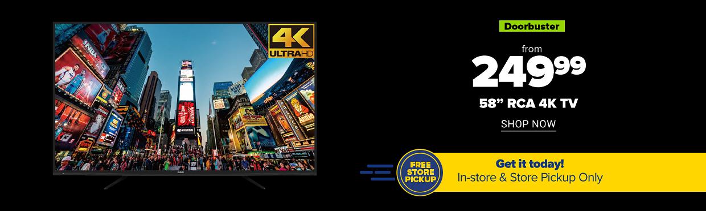 Shop RCA 4K TV